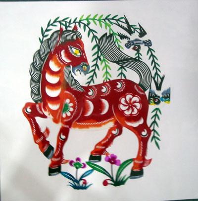中国民间艺术精粹-剪纸 - 天涯游子 - tianyayouzi123456的博客